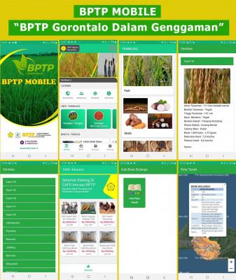 Komisi  Informasi  Pusat  Apresiasi  Inovasi  Layanan  Keterbukaan Informasi  Publik  BPTP  Gorontalo.